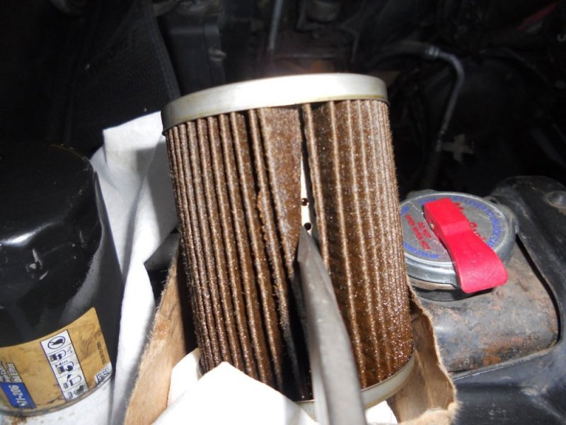 Mobile One Oil Filter >> Mobile 1 oil filter failure or defect. | The Truck Stop
