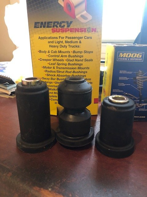 No Moog Front bushings for Forged LCAs | The Truck Stop